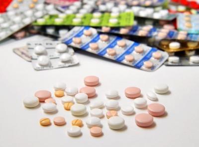 たくさんの種類の飲み薬
